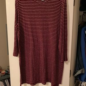 Old Navy striped tunic!